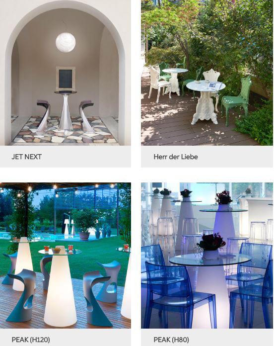 exklusive möbel terrasse beleuchtet - Terrassenmöbel Wetterfest