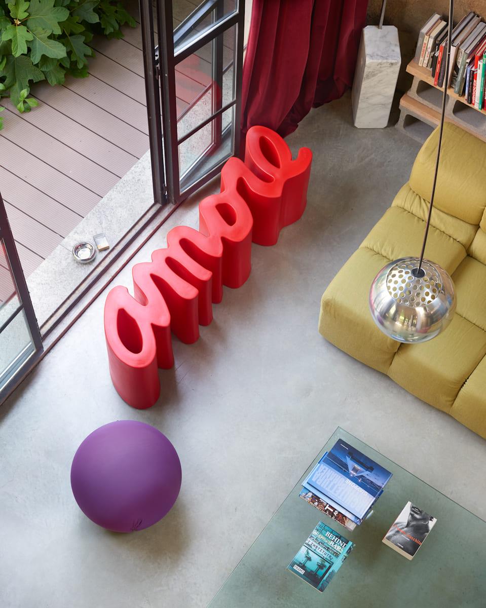 gartenbank modern sitzbank garten amore - Ausgefallene Designer Bank für den Garten