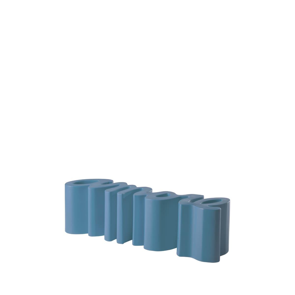 gartenbank modern sitzbank garten blau - Ausgefallene Designer Bank für den Garten