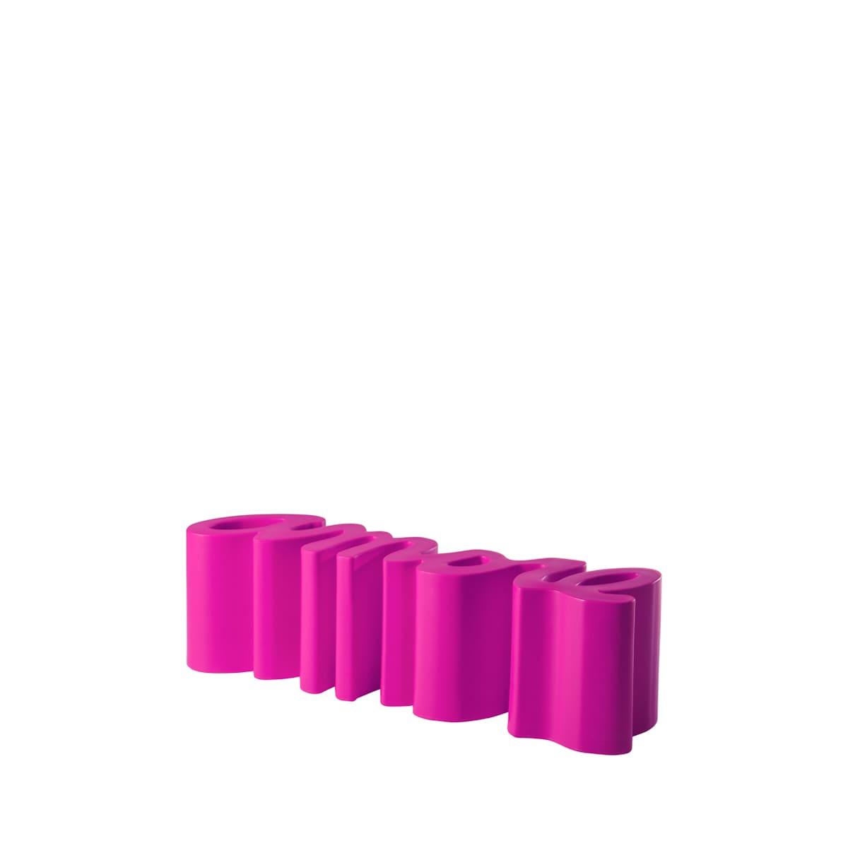 gartenbank modern sitzbank garten fuschia pink - Ausgefallene Designer Bank für den Garten