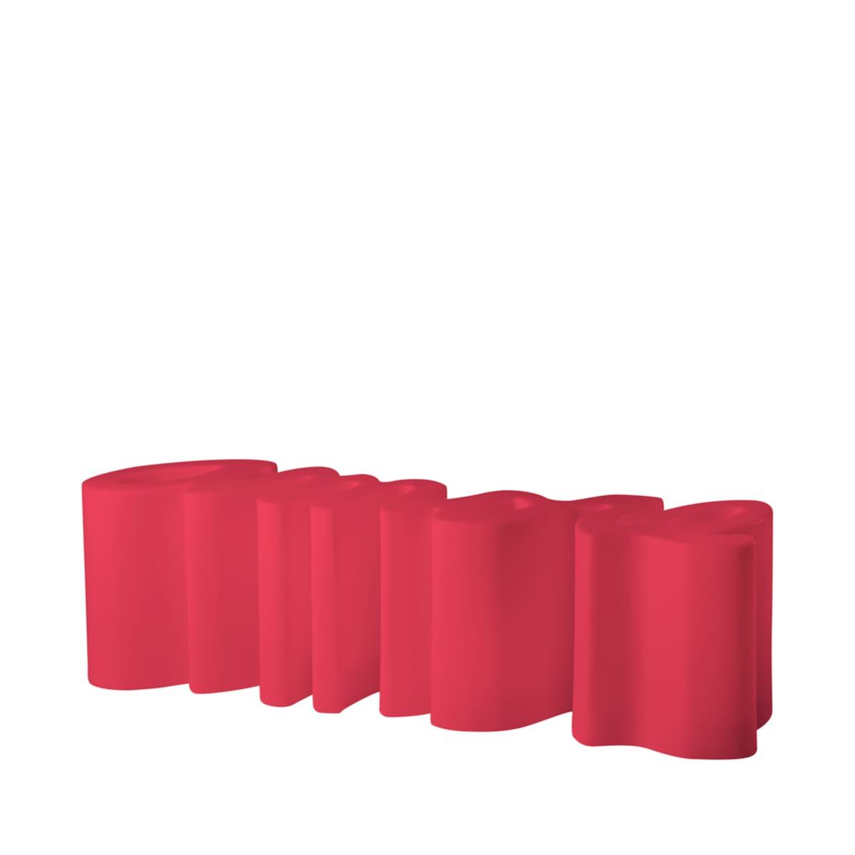 gartenbank modern sitzbank garten rot - Ausgefallene Designer Bank für den Garten