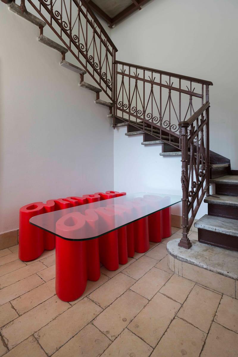 gartenbank modern slide amore gio colonna romano bench 6 - Ausgefallene Designer Bank für den Garten