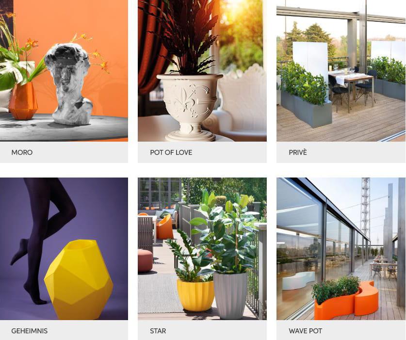 moderne vasen blumentöpfe outdoor modern - Terrassenmöbel Wetterfest