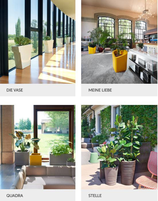 moderne vasen blumentöpfe outdoor - Terrassenmöbel Wetterfest