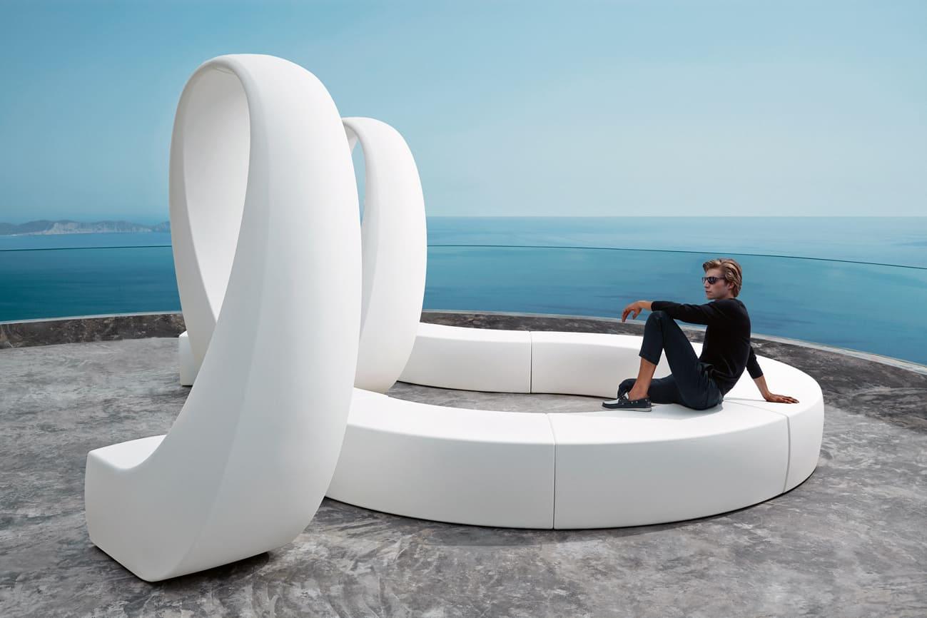 poolmöbel weiss - Moderne Loungemöbel Outdoor