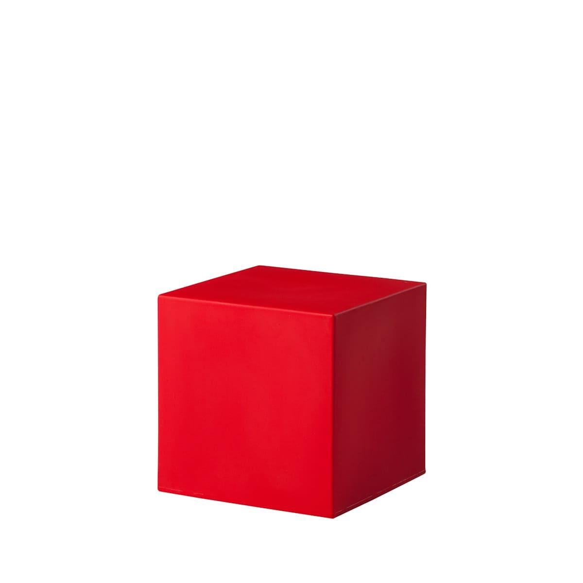 rote cube würfel 16 Bunte Wuerfel Outdoor - Cube Würfel beleuchtet
