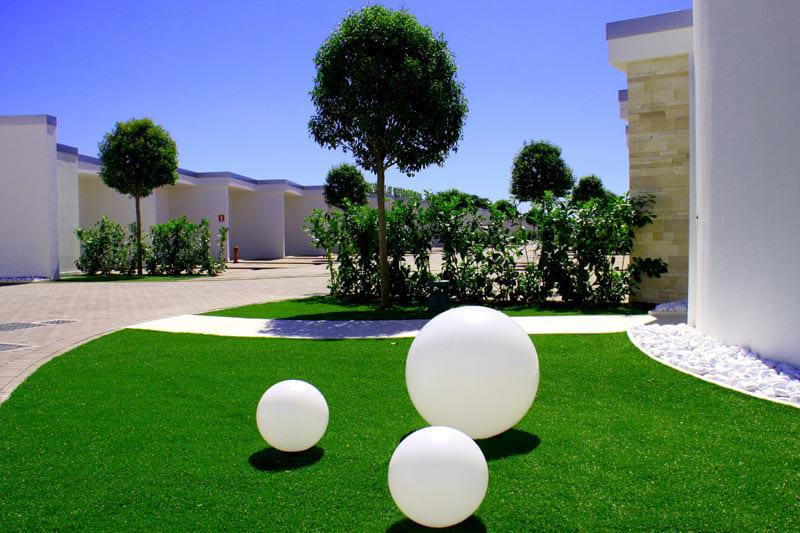 weiße kugeln 3er set garten online kaufen - TOP 10 Einrichtungsideen modern für Innen und Außen
