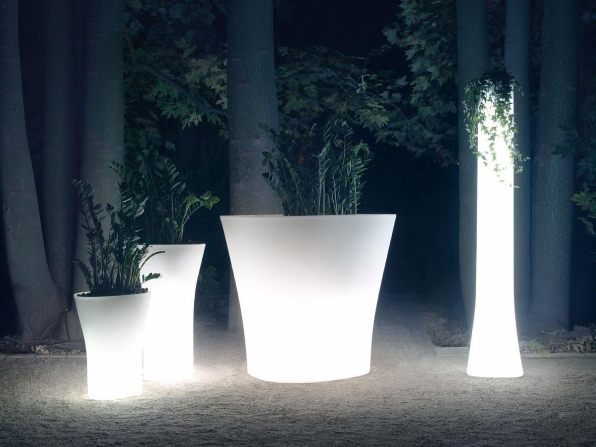 Bodenvasen Terrasse Beleuchtete Vasen 81 Skydesign - Bodenvase Groß