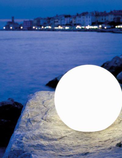 ausgefallene beleuchtung garten kugellampen 400x516 - Kugelleuchten Garten