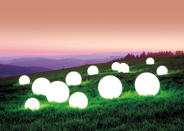 ausgefallene beleuchtung garten kugellampen wasserfest - Kugelleuchten Garten