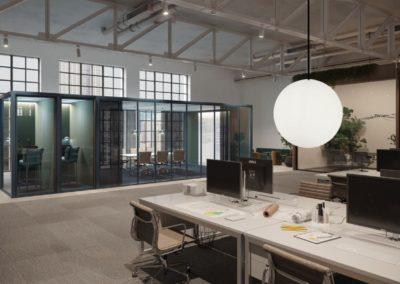 buerobeleuchtung weisse runde lampen 1 400x284 - Leuchtkugeln