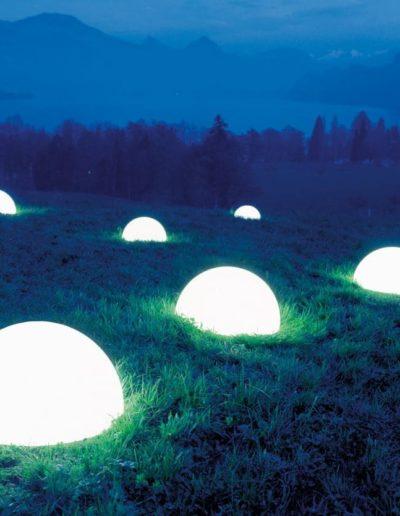 halbkugel gartenkugel beleuchtet 400x516 - Kugelleuchten Garten