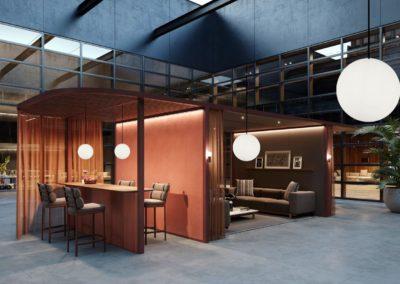 weisse pendelleuchten esstisch wohnzimmer 1 400x284 - Leuchtkugeln