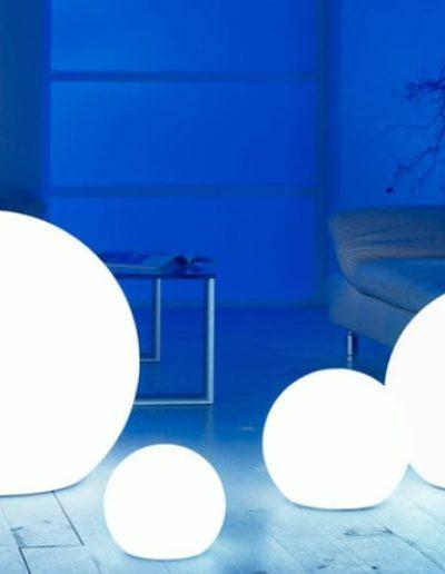 wohnzimmer beleuchtung kugel 400x516 - Kugelleuchten Garten