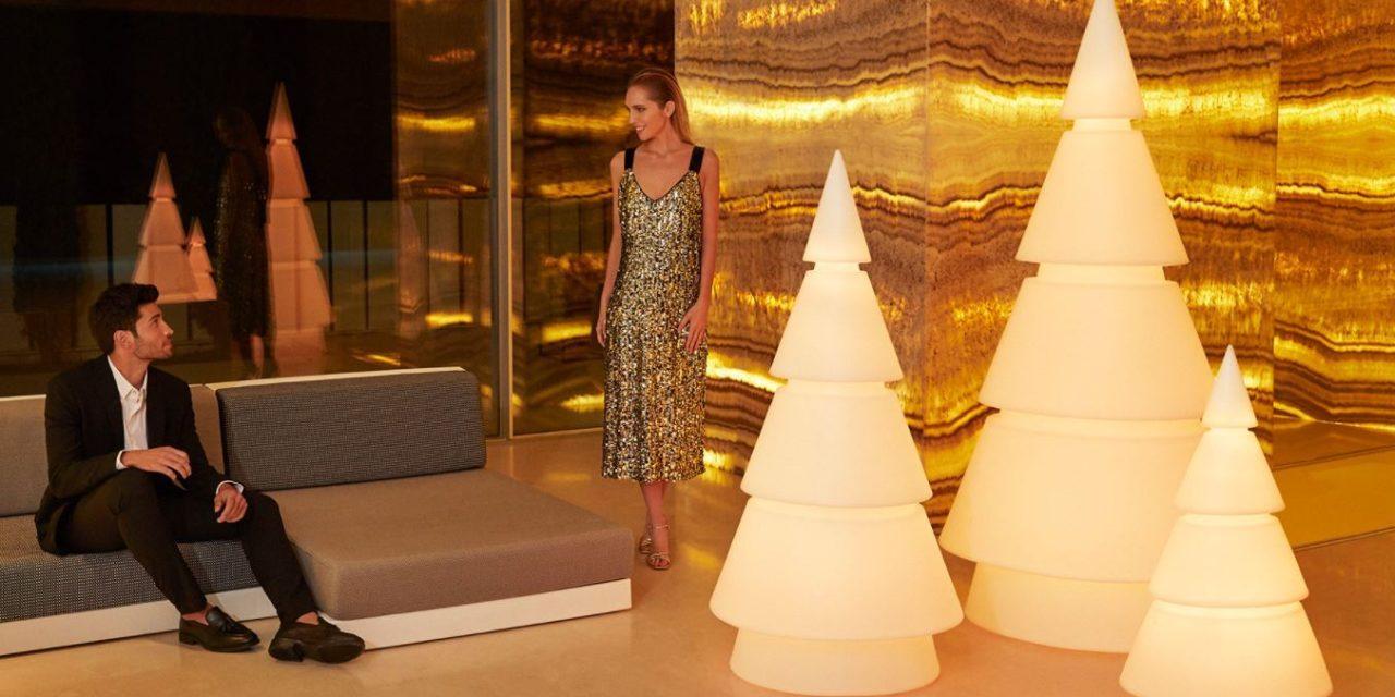 Weihnachtsbaum modern künstlich   Weihnachtsbeleuchtung für Außen & Innen